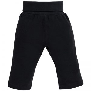 EarthHero - Organic Cotton Rolled Waist Baby Clothes Pants - 1