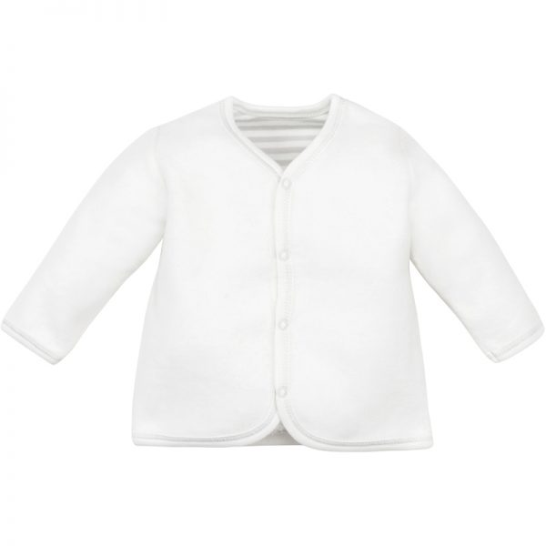 EarthHero - Organic Cotton Sherpa Front Snap Baby Jacket - 1