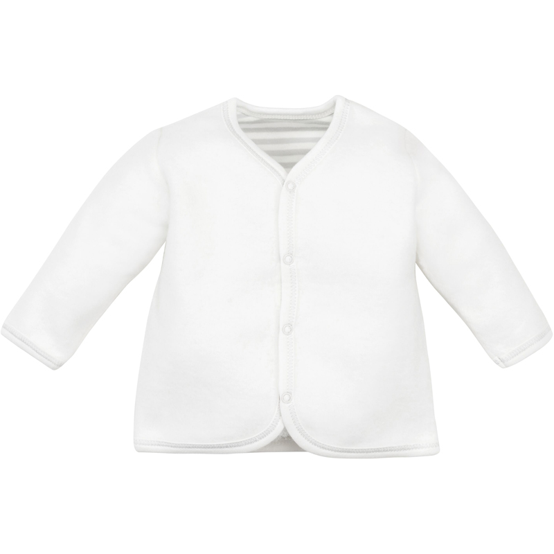 EarthHero - Organic Cotton Sherpa Front Snap Baby Jacket - 1