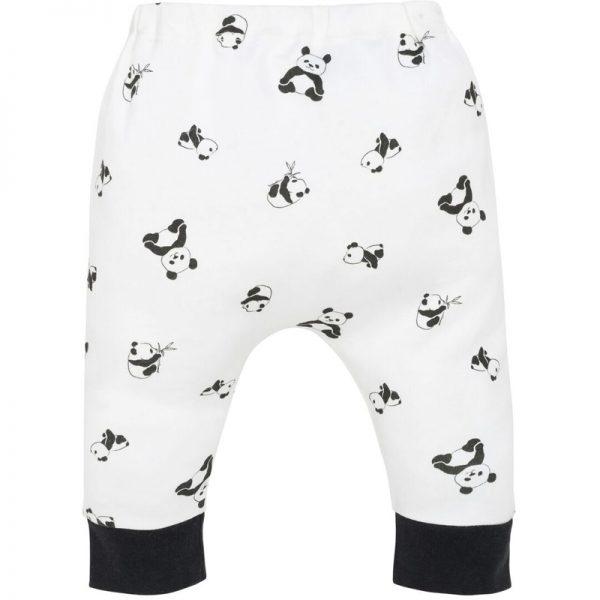 EarthHero - Panda Print Baby Clothes Harem Pants - 1