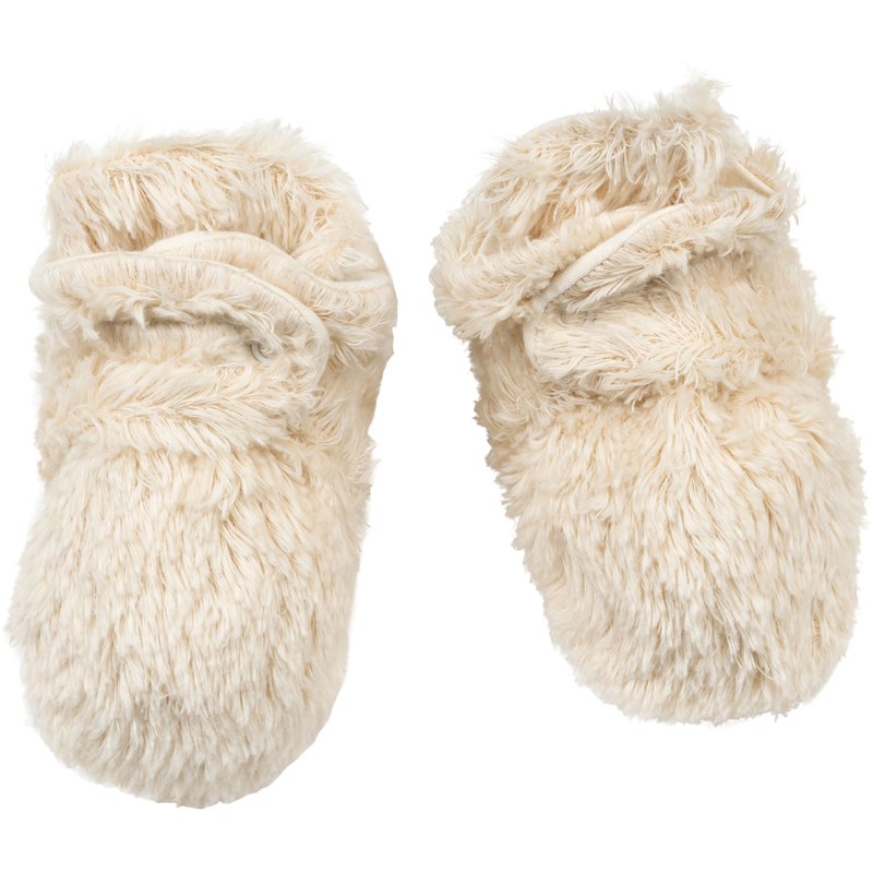 EarthHero - Shaggy Sherpa Snap Baby Booties - 1