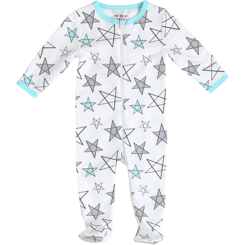EarthHero - Star Delight Zipper Onesie - 1