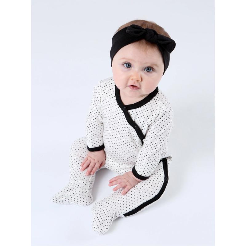 EarthHero - Organic Cotton Bow Baby Headband - 12