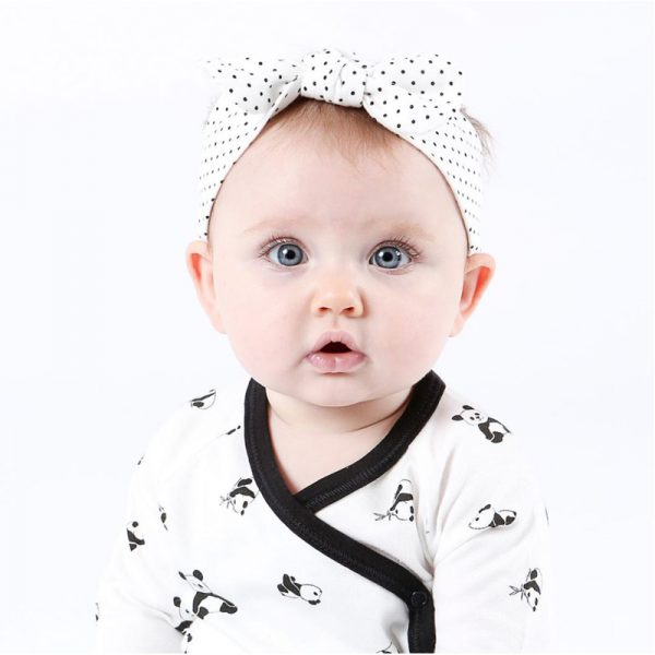 EarthHero - Organic Cotton Bow Baby Headband - 4