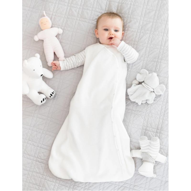 EarthHero - Organic Cotton Sherpa Baby Sleep Sack - 12