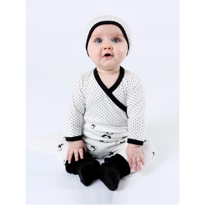 EarthHero - Organic Cotton Snap Baby Booties - 12