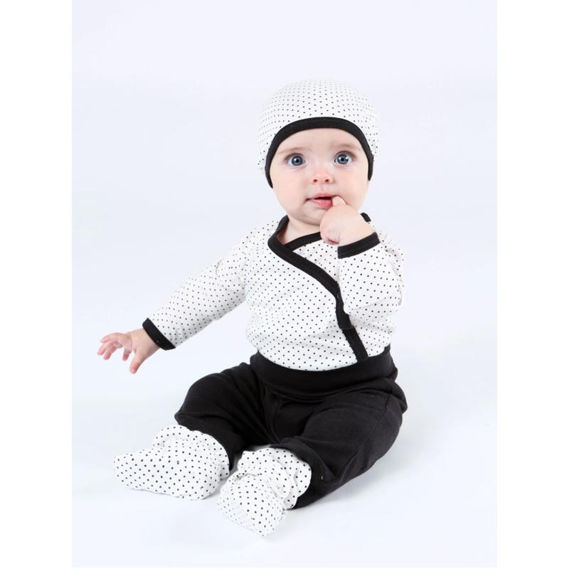 EarthHero - Organic Cotton Snap Baby Booties - 3