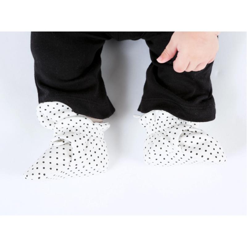 EarthHero - Organic Cotton Snap Baby Booties - 4