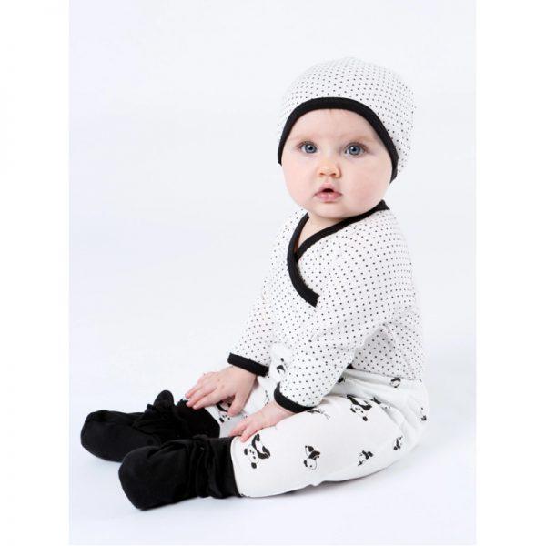 EarthHero - Panda Print Baby Clothes Harem Pants - 12