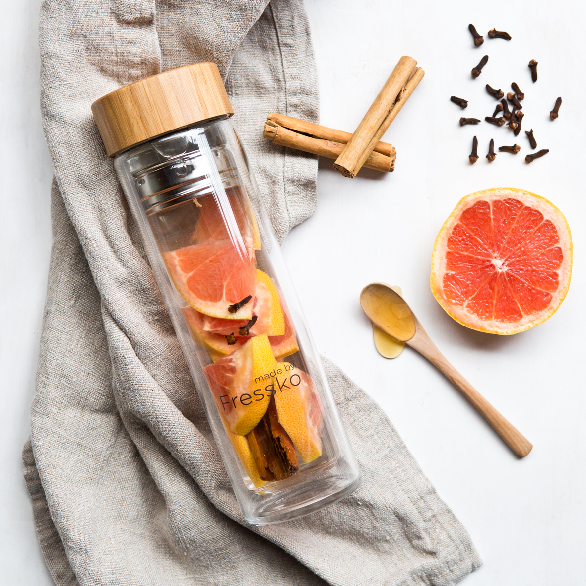 EarthHero - Glass Infuser Bottle - 4