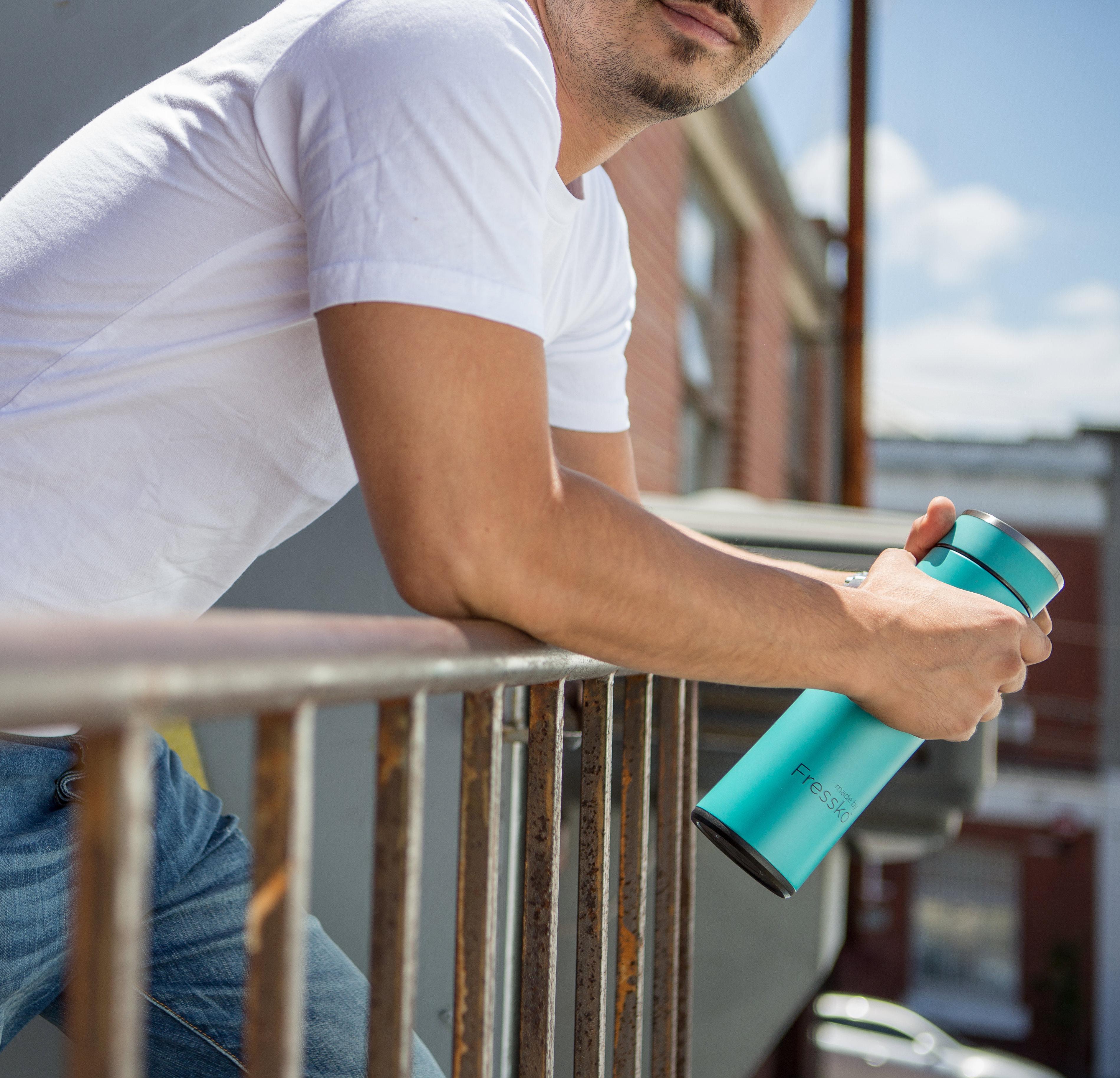 EarthHero - Stainless Steel Infuser Bottle  - 5