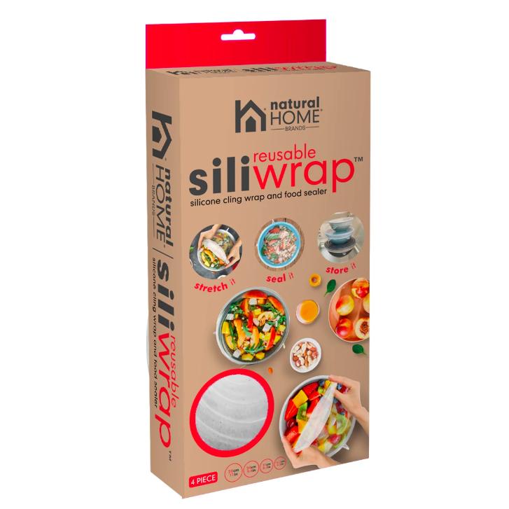EarthHero - SiliWrap™ Stretch Wrap Silicone Lids - 4 Pk