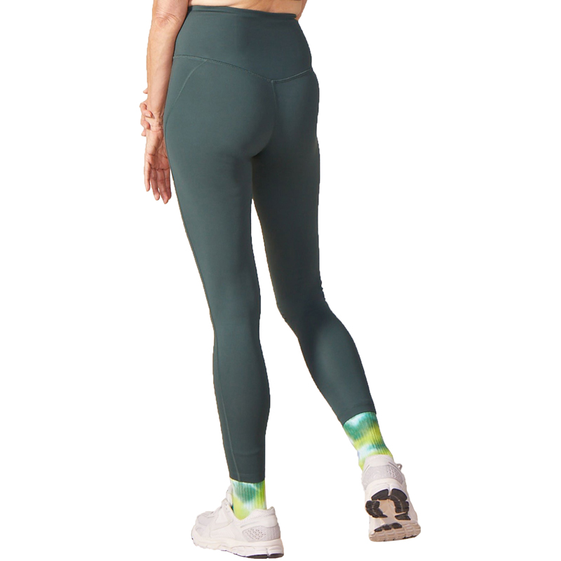 EarthHero - Moss Girlfriend Collective High-Rise Compressive Legging - 3