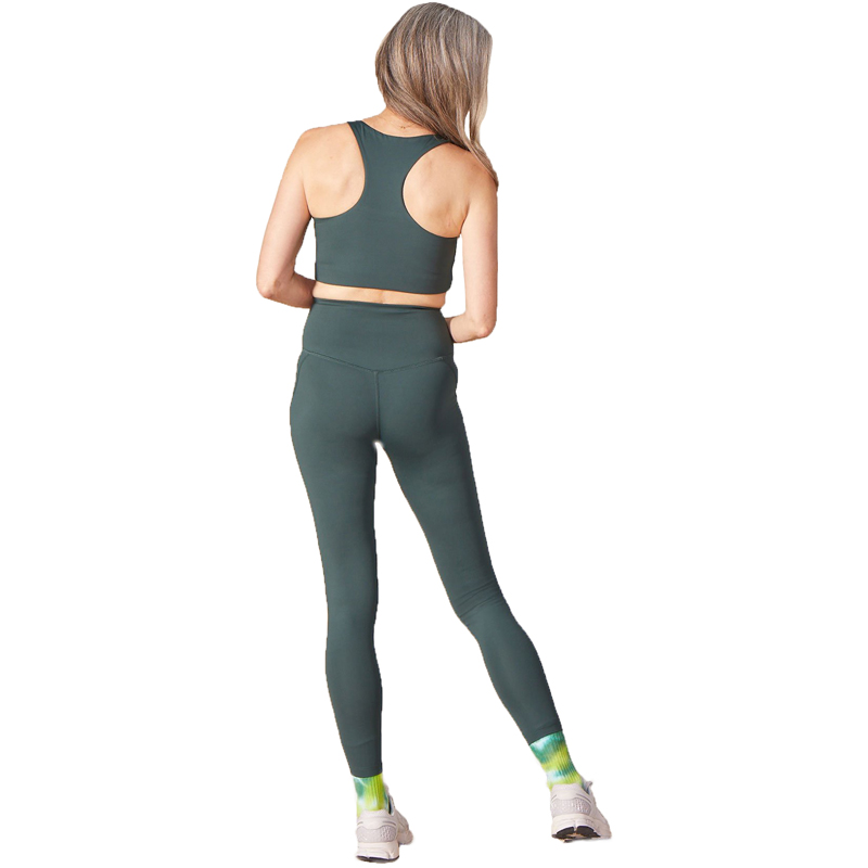 EarthHero - Moss Girlfriend Collective High-Rise Compressive Legging - 4