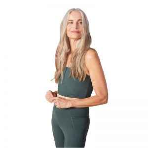 EarthHero - Moss Girlfriend Collective Paloma Sports Bra - 1