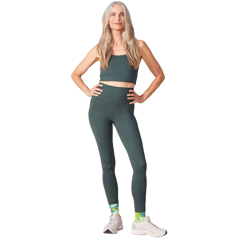 EarthHero - Moss Girlfriend Collective Paloma Sports Bra - 2
