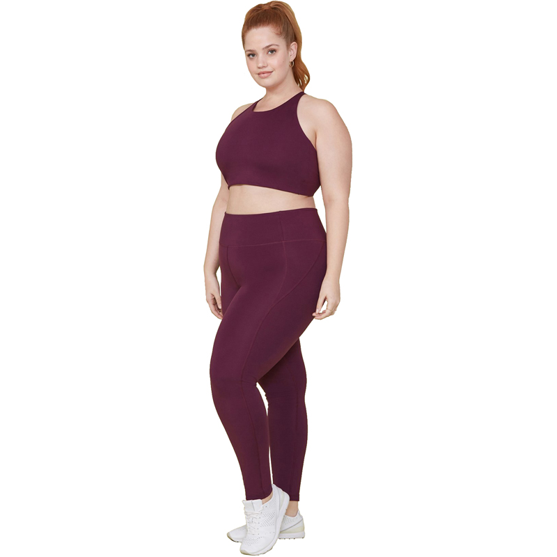 EarthHero - Plum Girlfriend Collective High-Rise Compressive Legging - 1