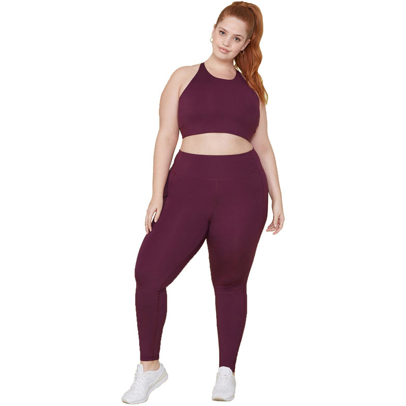 EarthHero - Plum Girlfriend Collective High-Rise Compressive Legging - 3