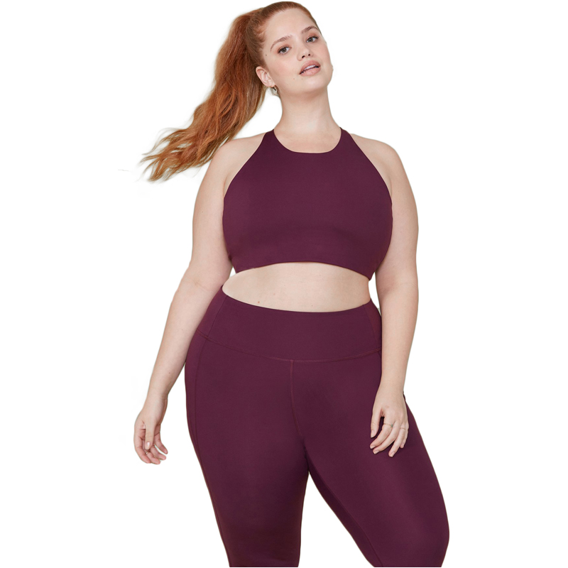 EarthHero - Plum Girlfriend Collective Topanga Sports Bra - 1