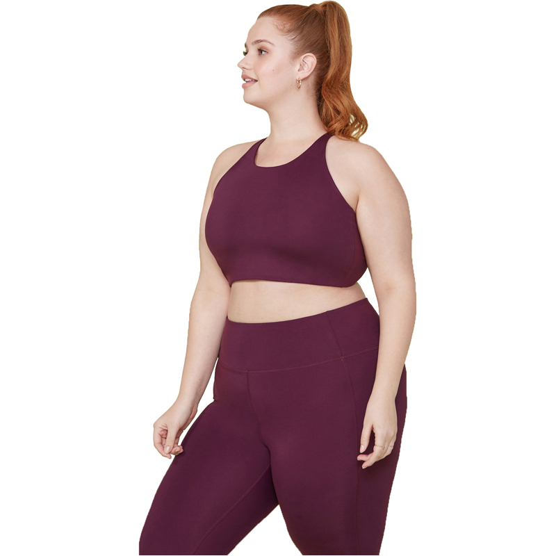 EarthHero - Plum Girlfriend Collective Topanga Sports Bra - 3