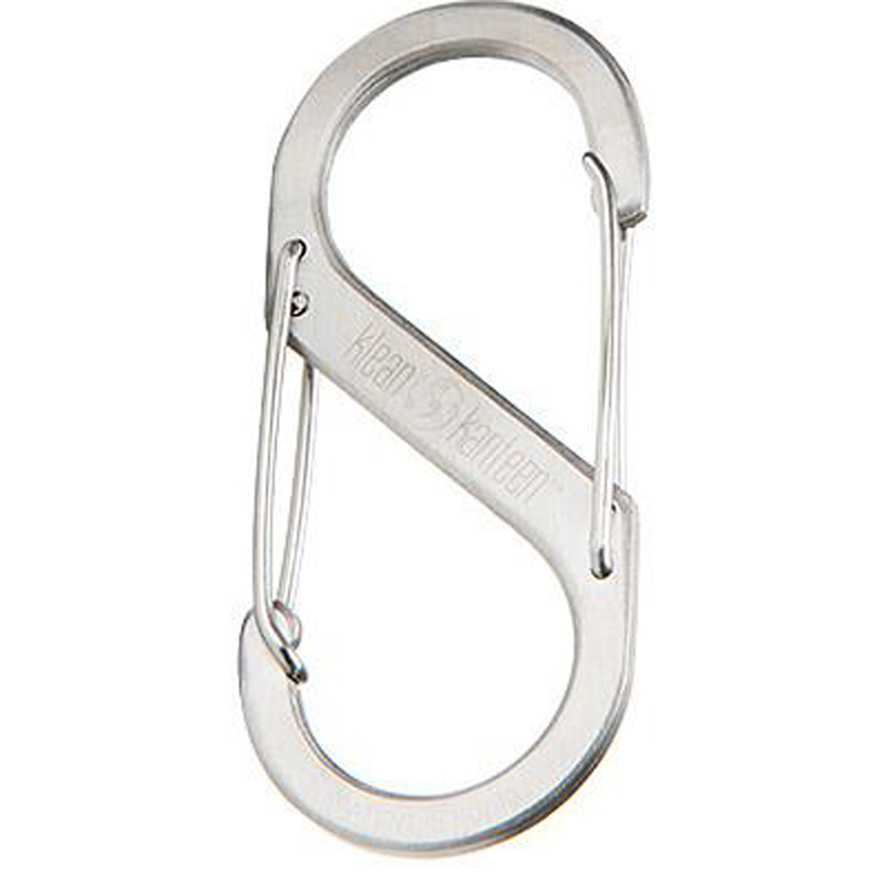 EarthHero - Brushed Stainless Steel Carabiner 1