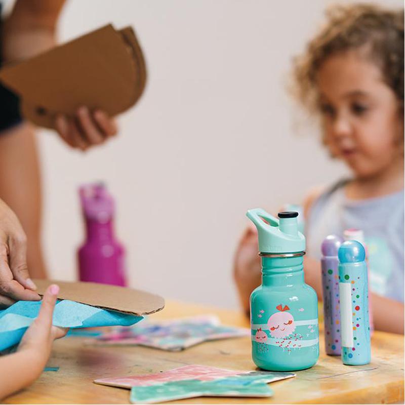 EarthHero - Kid Kanteen Sport Jellyfish Kids Water Bottle 12oz 2
