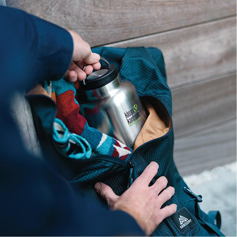 EarthHero - TKWide Insulated Water Bottle 64oz with Loop Cap 2