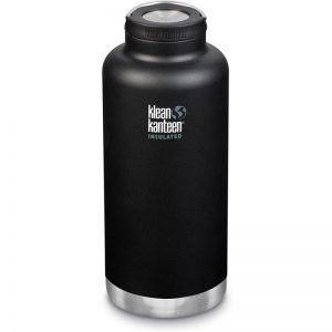EarthHero - TKWide Insulated Water Bottle 64oz with Loop Cap - Shale Black