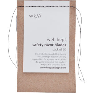 Well Kept Safety Razor Replacement Blades–20pk 2