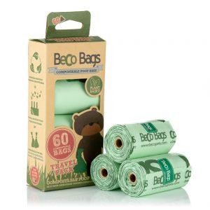 EarthHero - Compostable Dog Poop Bags 60pk new 1