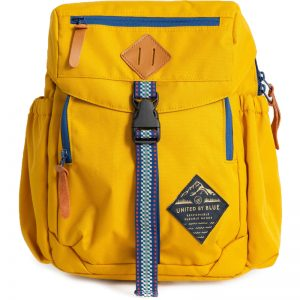 EarthHero - Bluff Recycled Polyester Utility Travel Backpack - Mustard - 1