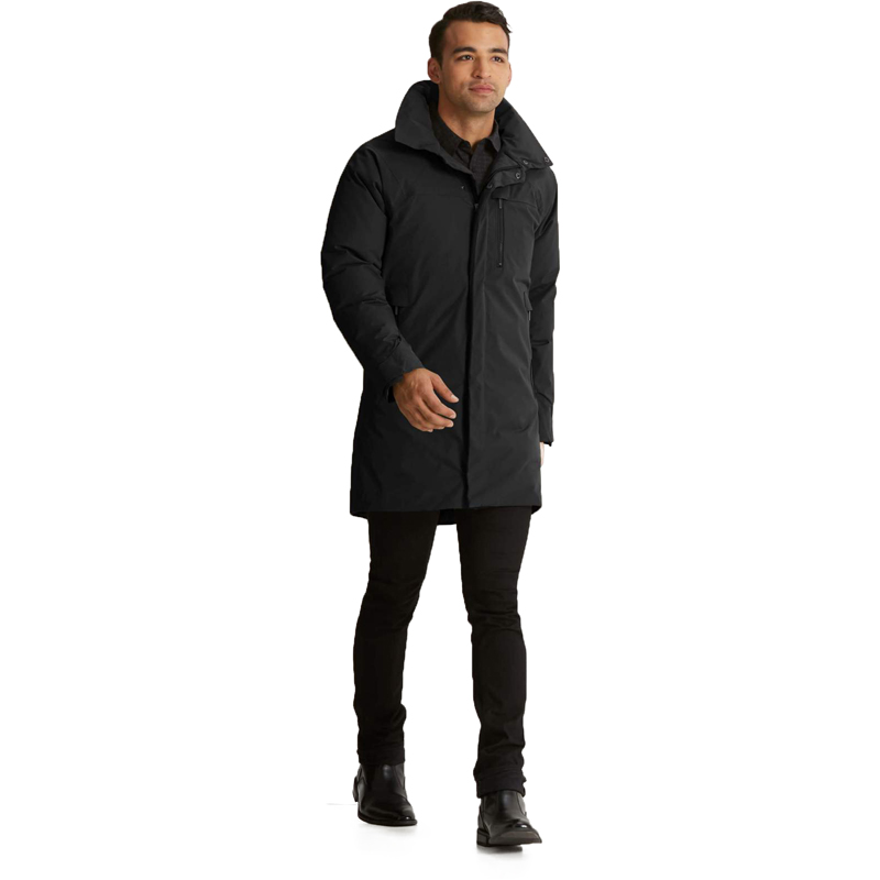 EarthHero - Copenhagen Down Trench Coat Men - Caviar