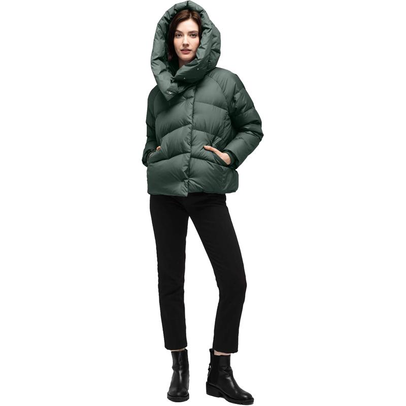 EarthHero - Plume Down Women's Jacket - Spruce
