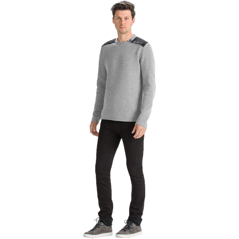 EarthHero - Stealth Crew Neck Men's Sweater - Cape Heather