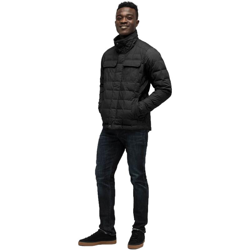 EarthHero - Utility Down Men's Jacket - Caviar