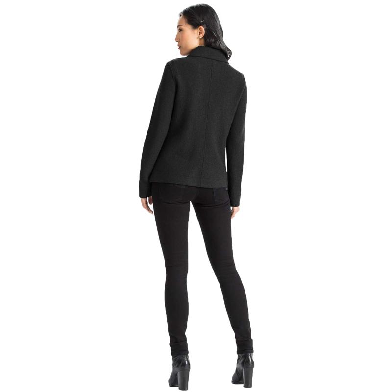EarthHero - Women's Boiled Wool Moto Jacket - 2