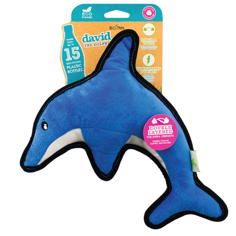 EarthHero - Dolphin Rough & Tough Dog Toy 1