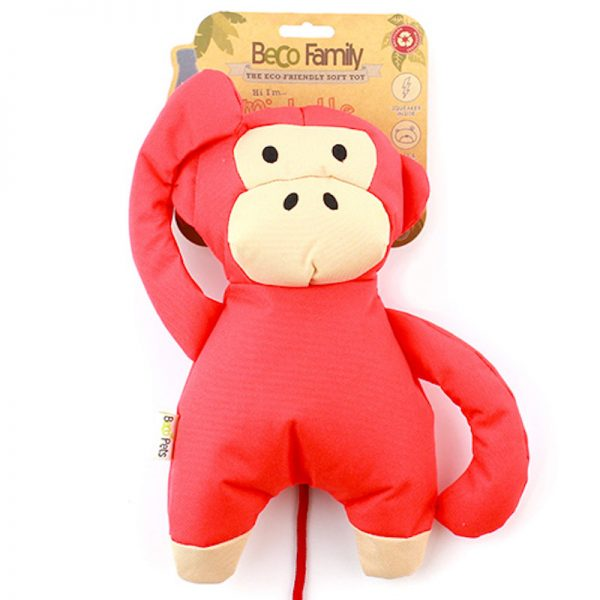 EarthHero - Monkey Plush Dog Toy - Large