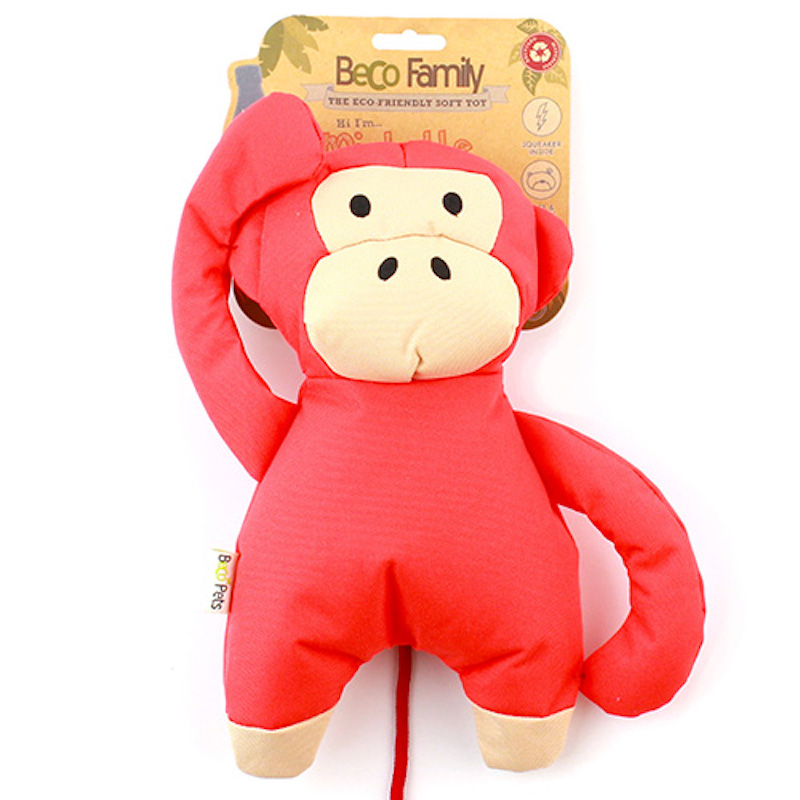 EarthHero - Monkey Plush Dog Toy - Large