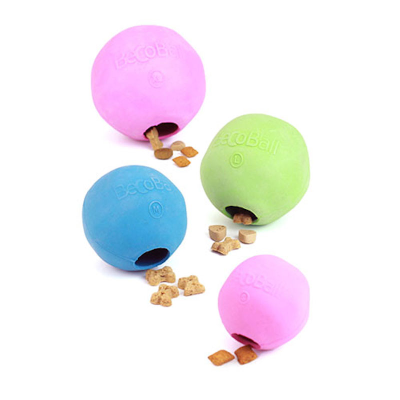 EarthHero - Natural Rubber Dog Treat Ball 1