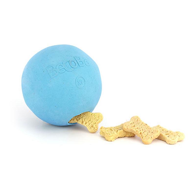 EarthHero - Natural Rubber Dog Treat Ball 2