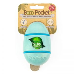 EarthHero - Pocket Bamboo Poop Bag Dispenser - Blue