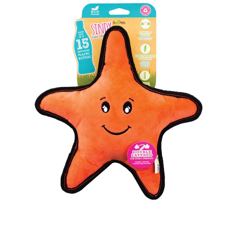 EarthHero - Star Fish Rough & Tough Dog Toy 1