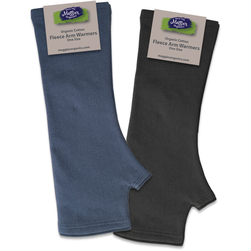 EarthHero - Fleece Organic Cotton Arm Warmers 1