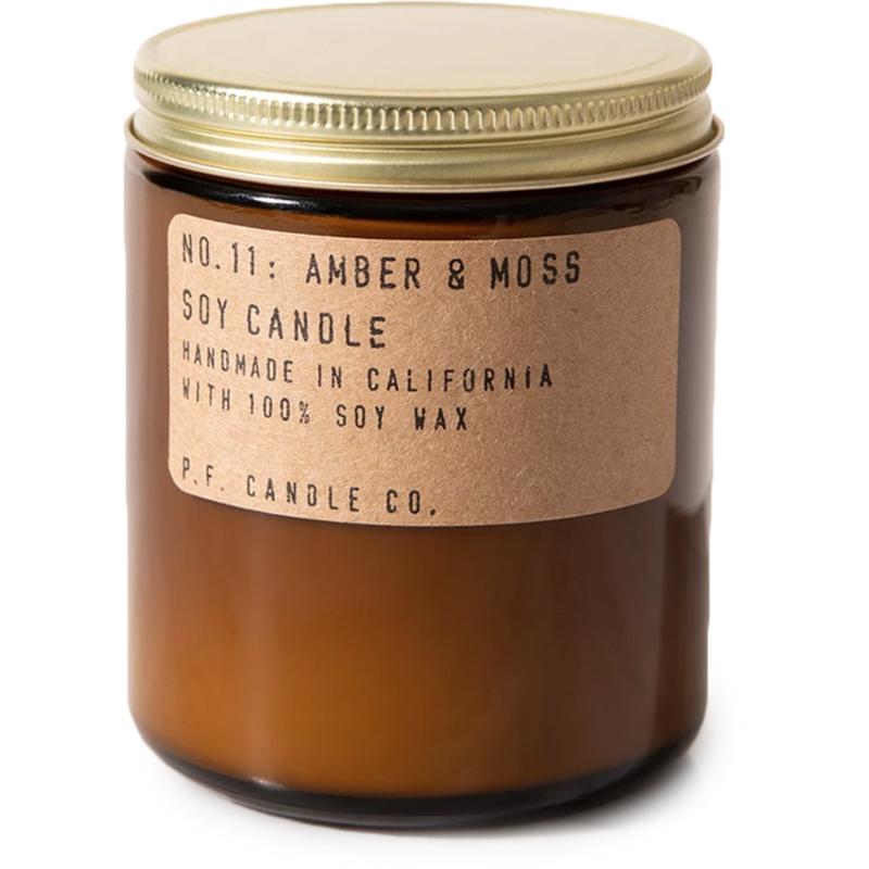 EarthHero - Amber + Moss Soy Candle - Standard 7.2oz