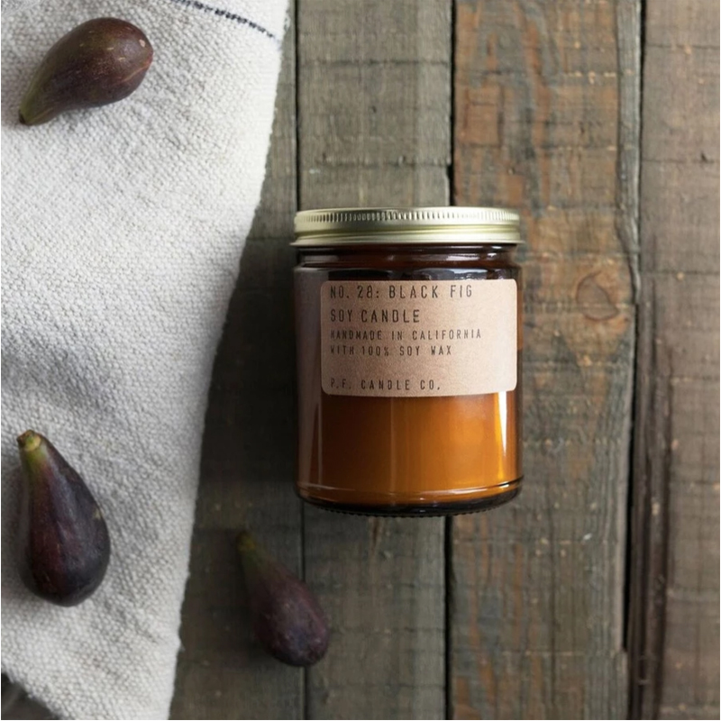 EarthHero - Black Fig Soy Candle 7.2oz - 2