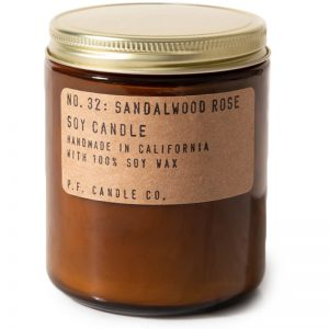 EarthHero - Sandalwood + Rose Soy Candle - Standard 7.2oz