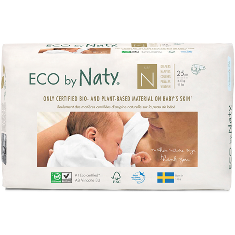 EarthHero - Biobased Newborn Diapers - 1
