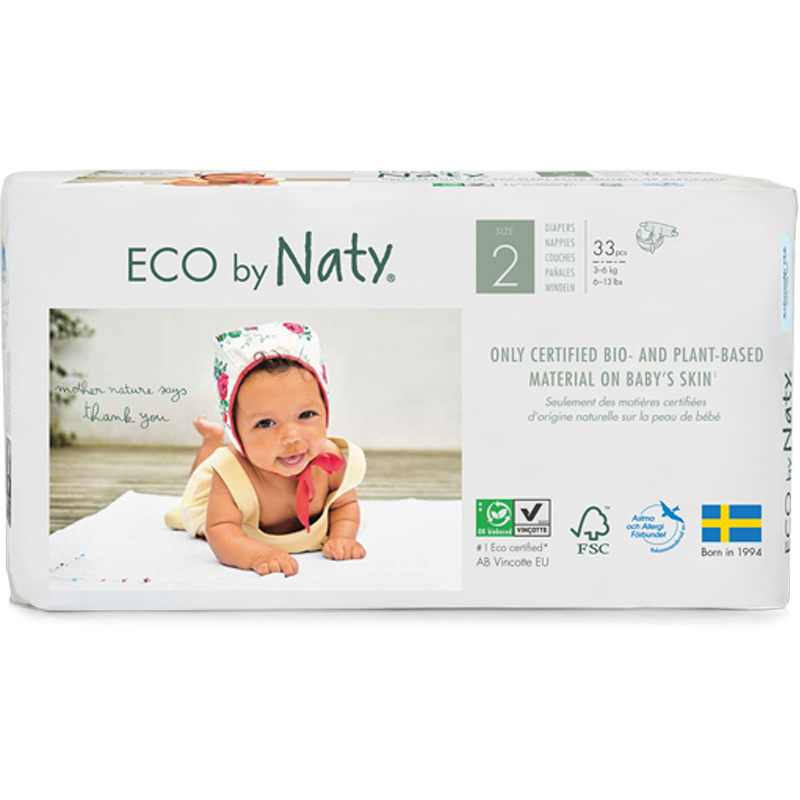EarthHero - Biobased Size 2 Eco-Friendly Diapers - 1