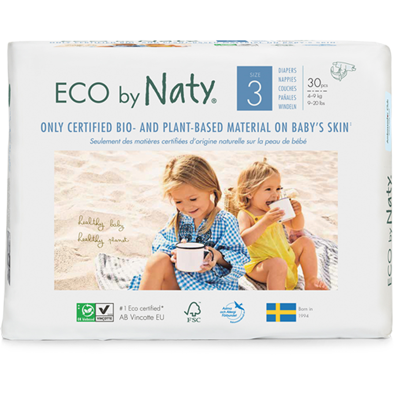 EarthHero - Biobased Size 3 Eco-Friendly Diapers - 1